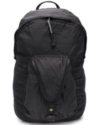 C P Company - Backpack With Zip And Pockets - Lyst