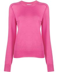 Bottega Veneta Long-sleeve Knitted Top - Pink