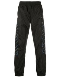 Off-White c/o Virgil Abloh Diagonal Stripes Pants - Black