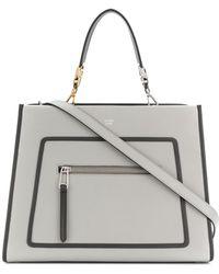 Fendi - Runaway Leather Shoulder Bag - Lyst