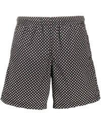 Alexander McQueen Skull Pattern Swim Shorts - Black