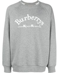 Burberry - Logo Sweatshirt - Lyst