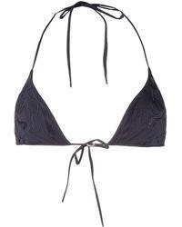 La Perla Anemone Triangle Bikini Top - Blue