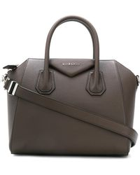 Givenchy - Antigona Small Leather Shoulder Bag - Lyst