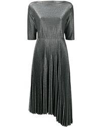 Fabiana Filippi Metallic .pleated Dress