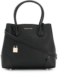 MICHAEL Michael Kors Mercer Gallery Md Center Zip Tote Black