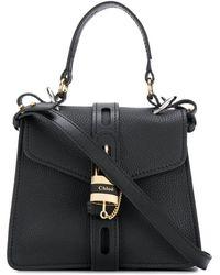 Chloé Medium Aby Day Shoulder Bag - Black