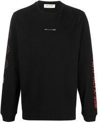 1017 ALYX 9SM Logo Embroidered Jumper - Black