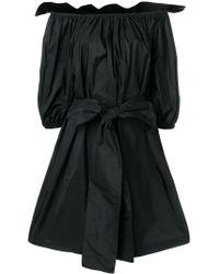 Stella McCartney - Short Dress With Bow - Lyst