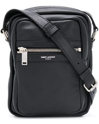 Saint Laurent Sid Pouch Crossbody Bag - Black
