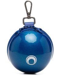 Marine Serre Borsa micro ball - Blu