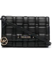 MICHAEL Michael Kors Interwoven-strap Cross Body Bag - Black