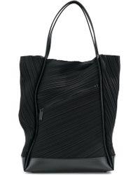 Pleats Please Issey Miyake Tot Bag - Black