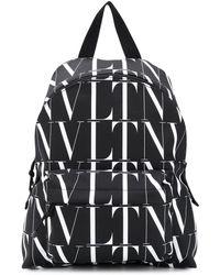 Valentino Garavani Vltn Times Backpack - Black