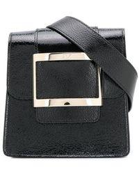 Roger Vivier Belty Leather Beltbag - Black