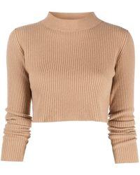 ANDAMANE Enny Wool Sweater - Natural
