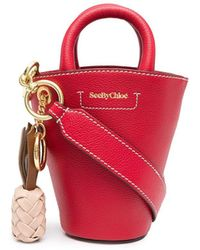 See By Chloé Small Cecilya Tote - Red