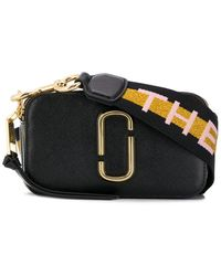 Marc Jacobs Black Small Snapshot Camera Bag