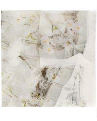Alexander McQueen - Printed Foulard - Lyst