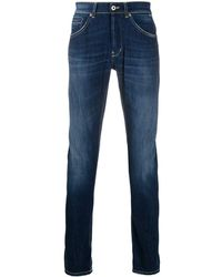 Dondup George Mid-rise Skinny Jeans - Blue