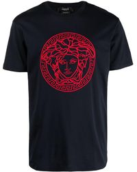 Versace - Medusa-head Motif Short-sleeve T-shirt - Lyst