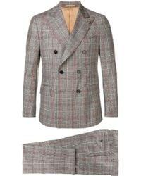 Gabriele Pasini - Plaid Two-piece Suit - Lyst