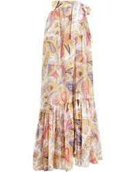 Etro Zante Long Skirt - Multicolor
