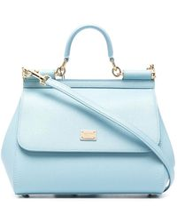 Dolce & Gabbana Sicily Tote Bag - Blue