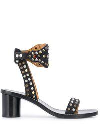 Isabel Marant 65mm Stud-embellished Sandals - Black