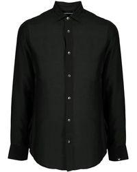 Emporio Armani Shirts Black