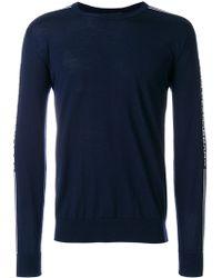 Dolce & Gabbana - Logo Print Wool Sweater - Lyst