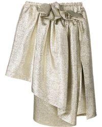 Stella McCartney - Asymmetric Skirt - Lyst