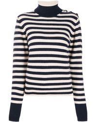 Chloé Mariner Stripe Cashmere Jumper - Multicolour
