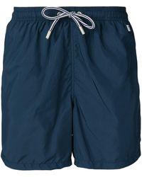 Mc2 Saint Barth Pantone Swim Shorts - Blue