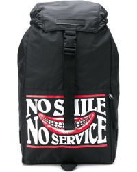 Stella McCartney - No Slime No Service Printed Backpack - Lyst