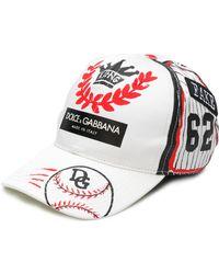 Dolce & Gabbana - Baseball Hat With Logo - Lyst