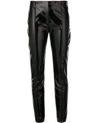 Valentino - Vinyl Trousers - Lyst