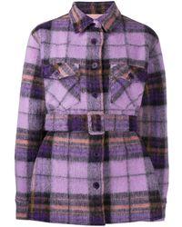 ANDAMANE Evita Wool Jacket - Purple