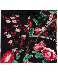 Alexander McQueen - Floral Scarf - Lyst