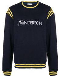 JW Anderson - Logo Varsity Sweatshirt - Lyst