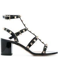 Valentino - Garavani Rockstud Strap Detail Sandals - Lyst