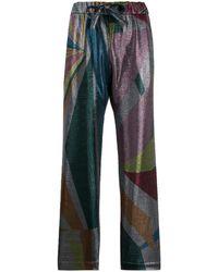 Mira Mikati Pantalone Con Stampa Geometrica - Multicolore