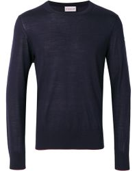 Moncler - Classic Knitted Jumper - Lyst