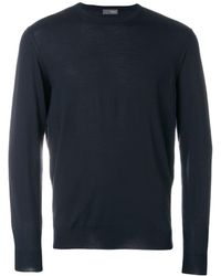 Drumohr Crew Neck Jumper - Blue