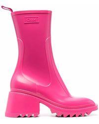 Chloé Stivali da pioggia Betty - Rosa