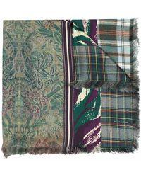 Pierre Louis Mascia Silk 135x195 Shawl - Green