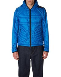 Moncler Genius Ultra Lightweight Nylon Jacket - Blue