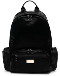 Dolce & Gabbana - Backpack With Branded Tag - Lyst