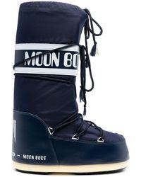 Moon Boot Stivali da neve Glance - Blu