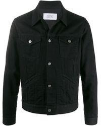 Givenchy Pocket Detail Denim Jacket - Black